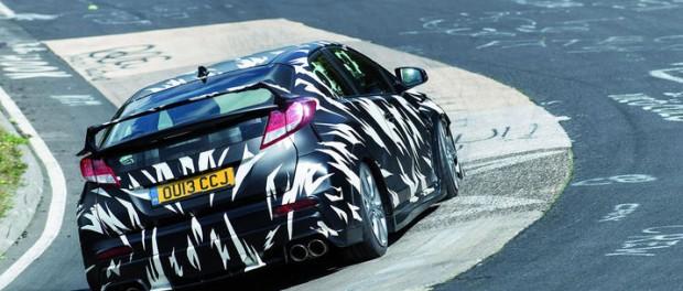 Nästa Honda Civic Type R får minst 280 hästar