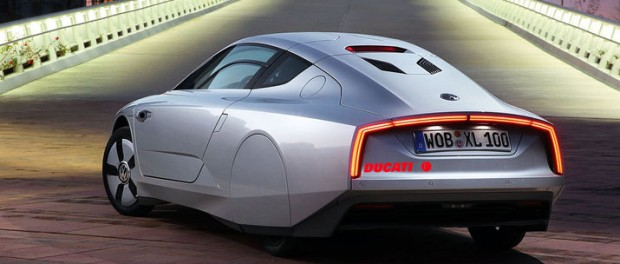 Snåla Volkswagen XL1 tuffas till med Ducati-motor