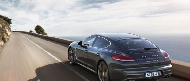 Porsche Panamera Turbo S i den nya skruden