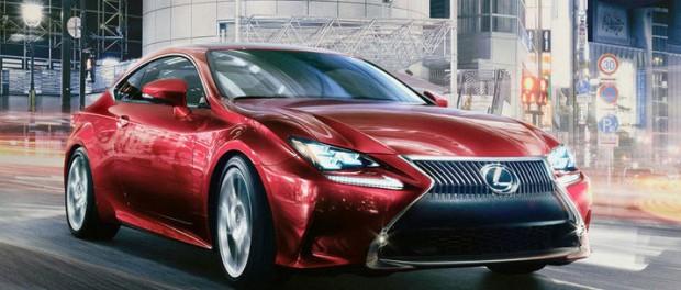 Lexus visar sportiga coupén RC