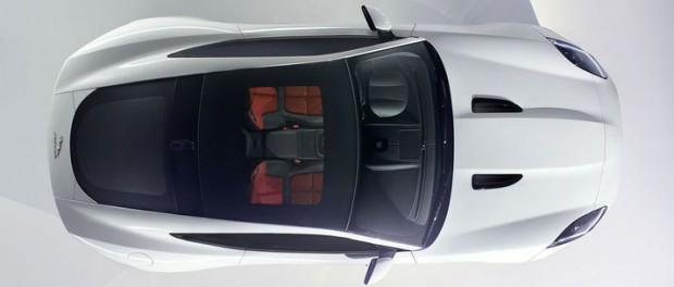 Första bilden på Jaguar F-Type Coupé