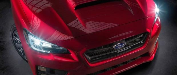 Nya Subaru Impreza WRX visar upp sig