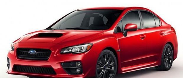 Subaru WRX läcker ut