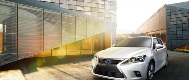 Lexus lyfter CT 200h