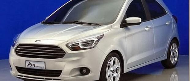 Nya Ford Ka i konceptform