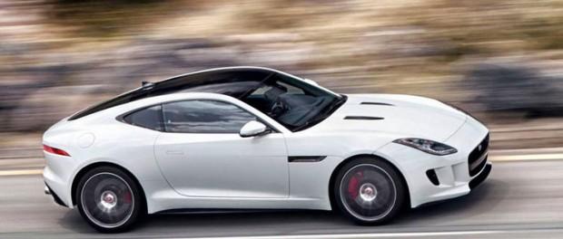 Läckra Jaguar F-Type Coupé läcker