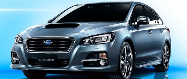 Subaru visar sportkombin Levorg