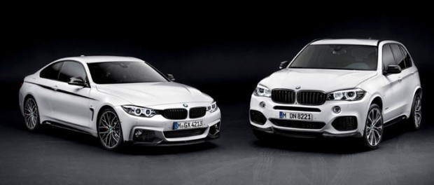 M-prylar till BMW 2-serie och X5