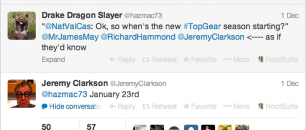 Top Gear är tillbaka den 23 januari