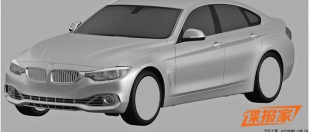Patentskisser på BMW 4-serie Gran Coupé