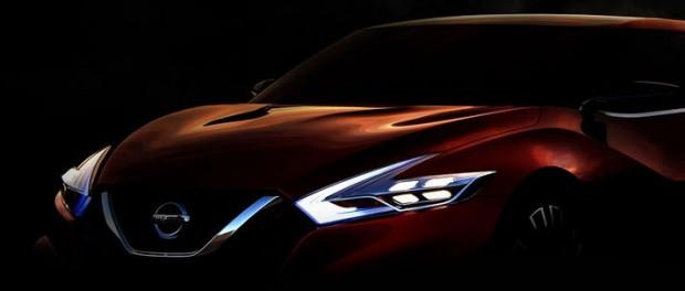 Nissan teasar ny sportsedan