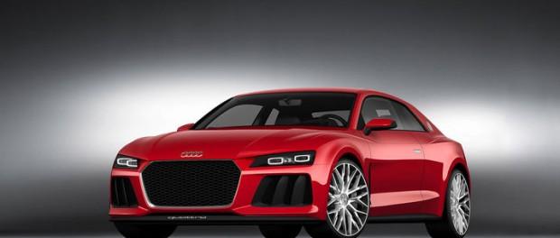 Audi visar Sport quattro laserlight concept