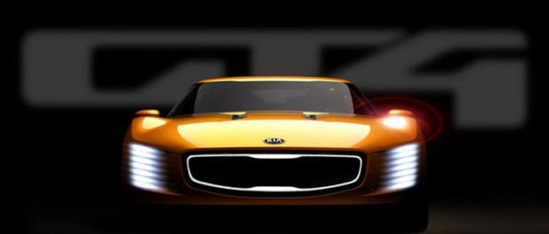 Kias nya koncept heter GT4 Stinger