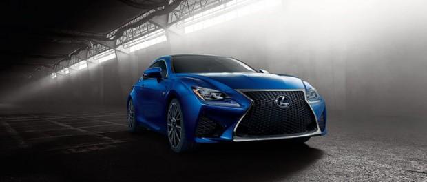 Lexus visar upp RC F