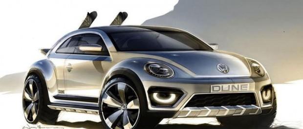 Volkswagen återupplivar Beetle Dune Concept