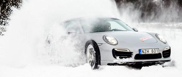 Fyrhjulsdrivet i snön
