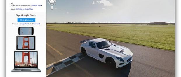 Nu kan du spana in Top Gears testbana på Google Street View