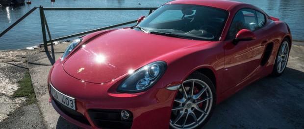 Porsche Boxster/Cayman GTS visas på Beijing Motor Show