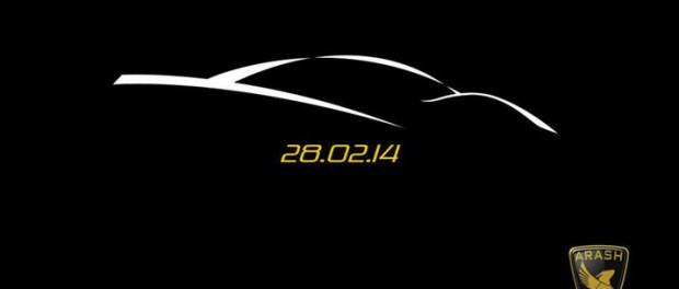 Arash Cars visar ny superbil 28 februari