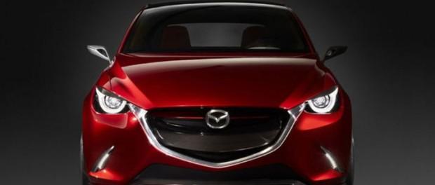 Officiella pressbilder på Mazda Hazumi