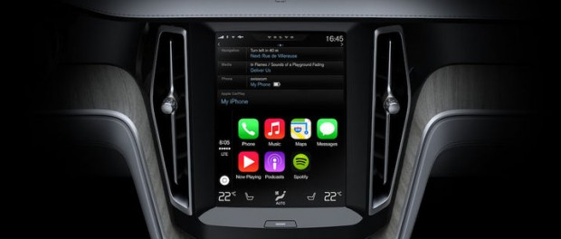 Så kommer CarPlay fungera i Volvo