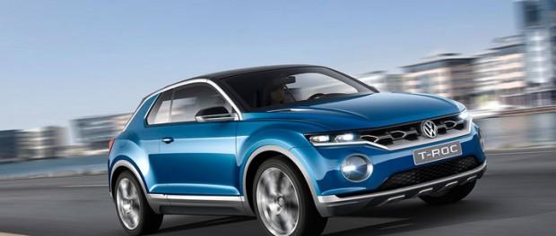 Volkswagen presenterar T-ROC