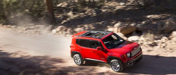 Jeep visar upp en mindre suv – Renegade
