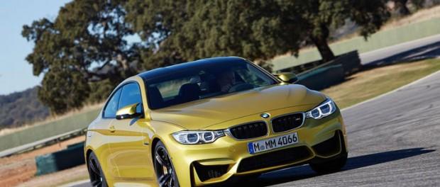 BMW M4 cab visas upp den 4 april