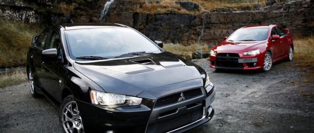 Tack och hej Mitsubishi Lancer Evolution