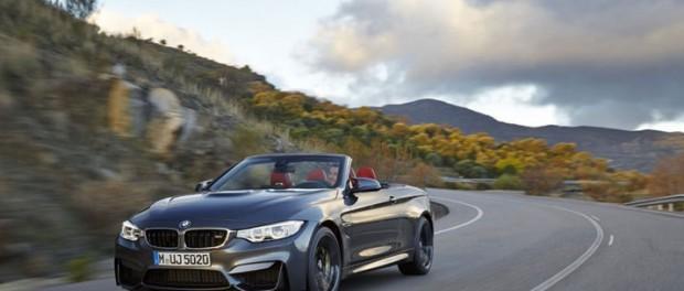 BMW presenterar M4 Cabriolet