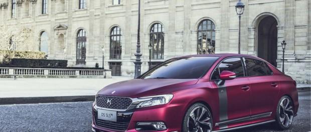 Citroën piffar till Kina-modellen DS 5LS