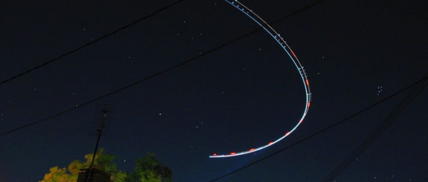 Fortkörare trodde fartkamera var ett UFO
