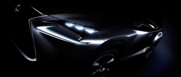 Lexus teasar crossovern NX