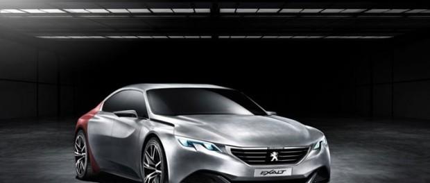 """Peugeot """"råkar"""" visa upp Exalt"""