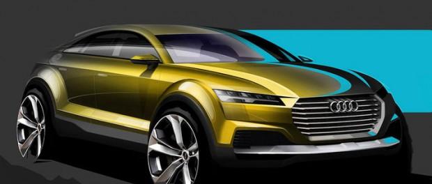 Audi teasar nytt suv-koncept