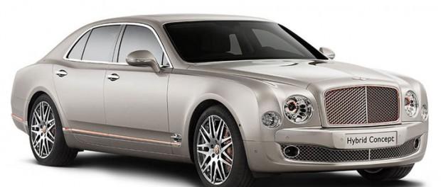 Bentley visar Mulsanne som hybrid