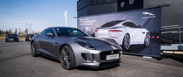 Vi har spanat in Jaguar F-Type Coupé