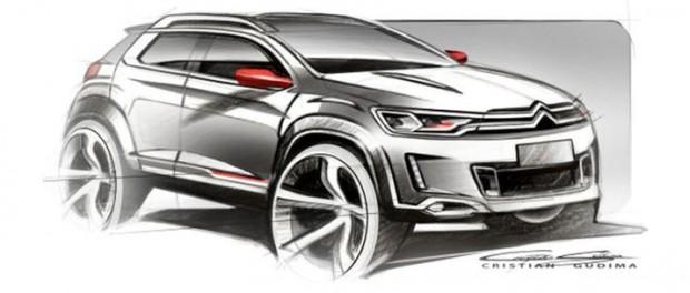 Ny minisuv från Citroën