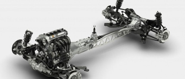 Chassiet till nya Mazda Miata