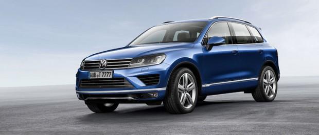 Volkswagen visar upp faceliftad Touareg