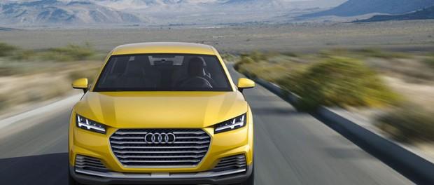 Audi visar TT offroad concept