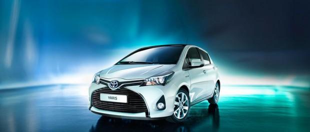 Toyota uppdaterar Yaris