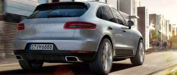 Turbofyra i Porsche Macan