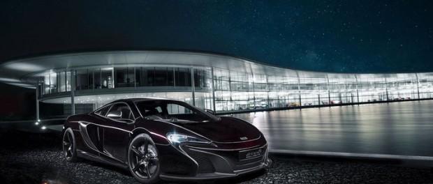 McLaren klär in 650S i kolfiber