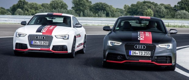 Audi visar prototyp med elturbo
