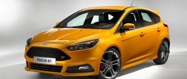 Ford presenterar faceliftad Focus ST