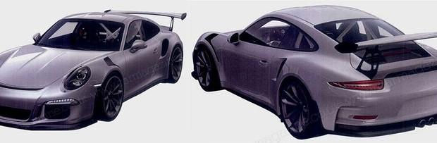 Nya bilder på nästa Porsche 911 GT3 RS läcker ut