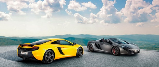 McLaren presenterar 625C
