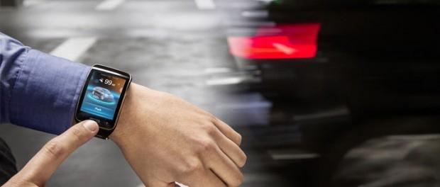 Parkera din BMW med klockan