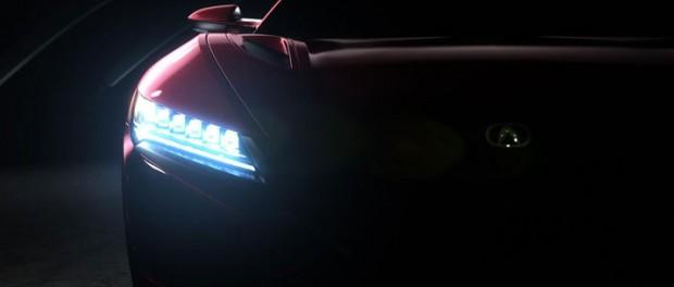 Produktionsversionen av Acura NSX ställs ut i Detroit
